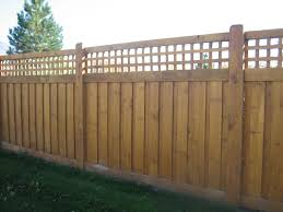 Decorative Fence Toppers Designing Cover Wood Lattice Fence Panels Design Ideas