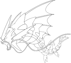 Coloriage M Ga L Viator Pokemon Imprimer