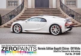 Discover the latest hermès creations. Hermes Edition Bugatti Chiron Off White Paint 60ml Zp 1648 Zero Paints