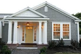 white front door yellow house. Gray House White Trim Popular Front Door Yellow With Colored Not So Sure About The Dark N