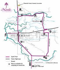 Tillamook County Quilt Trail Map and Quilt Block Information & The Original Barn Quilt Block Trail Map Adamdwight.com