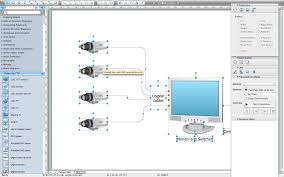 cctv network software cctv network diagram software
