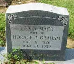 Leola Clare Adrienne Mack Graham (1926-1959) - Find A Grave Memorial