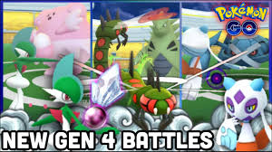 NEW GEN 4 SINNOH STONE EVOLUTION BATTLES IN POKEMON GO | YANMEGA GALLADE  FROSLASS TANGROWTH & MORE - YouTube