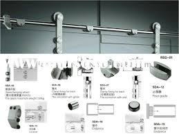 graceful sliding glass door hardware 45 barn rollers and track barnyard closet handles kit interior system