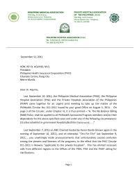 Philhealth 101 Letter Of Pma Phap Pha To Philhealth Re No