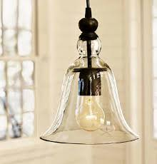 loft antique clear glass bell pendant lighting contemporary pendant lighting new york by