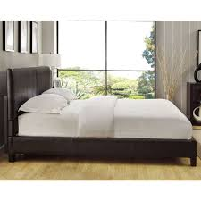 California king mattress frame Ikea Square Platform King Or Cal King Synthetic Leather Upholstery Bed Frame Overstock Shop Square Platform King Or Cal King Synthetic Leather Upholstery