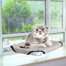 cat window hammock mounted seat with suction cups cat window hammock