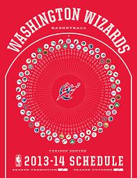 Washington Wizards 2013-14 Schedule ...