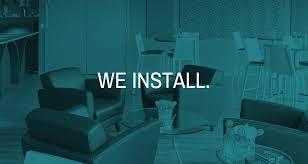 we install custom office furniture