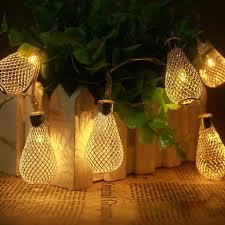 Diwali Led Lights Design 20 Led 86inch Battery Operated Diwali Decor Waterdrop String