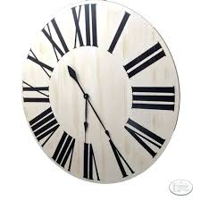 18 inch wall clock inch oversized vertical farmhouse wall clock my picture frames la crosse technology 18 atomic outdoor wall clock