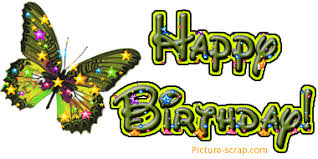Image result for birthday glitter images with wishes