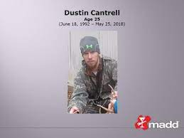 Dustin Cantrell – MADD – Tennessee, State Office