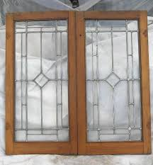 antique cabinet doors. antique good pair of cabinet doors with beveled glass e