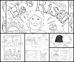 Easter Coloring Pages For Kids Religious Bible Free Printable 2708