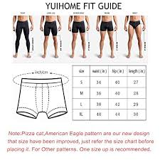 Yuihome Mens Underwear Boxer Briefs In Multiple Colors Patterns Designs Low Rise Short Cut For Gift