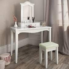 Stool Bedroom Dressing Table Stool Makeup Table Storage Mirror Bedroom Vanity
