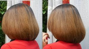 Bob Haircut Tutorial ตดผมบอบ ปลายงม พอมดได Best