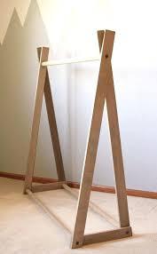 wooden clothing racks clothing rack clothing rack wood clothing rack closet  kids room a frame clothing