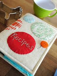 felt recipe book cover tutorial great idea to make one of these for a children s recipe book cool kids foods only let the children decorate the pages with