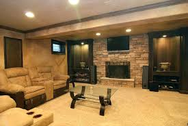 Finished Basement Designs Impressive Breathtaking Semi Finished Basement Ideas Basement Design Ideas