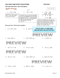 2 solving two step equations form k answers tessshlo
