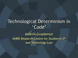 Technological Determinism Code