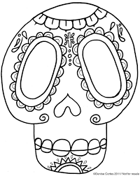 Small Picture 193 best halloween sugar skulls wroses coloring pages images on