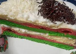 Jika semua lapisan bolu kukus atau cake sudah matang, keluarkan dari loyang. 6 Cara Bikin 40 Rainbow Cake Kukus No Mixer Yang Lezat Cookandrecipe Com