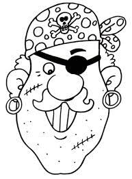 Piraten Masker Kleurplaat Krijg Duizenden Kleurenfotos Van De Beste