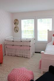 baby nursery awesome girl room decoration using scallop light pink and grey valance including patterned white wallpaper furry area rugs for gi rug boys