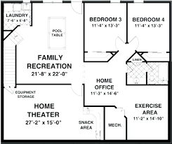 basement house plans. Plain House Stunning Ideas Ranch House Plans With Basement Intended T