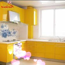 Yellow Kitchen Wallpaper Compare Prices On Kitchen Cabinet Paint Online Shopping Buy Low