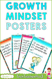 Growth Mindset Posters Motivational Quotes Growth Mindset Growth