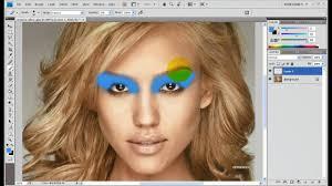 how to make digital makeup in adobe photo cs3 cs4 cs5 hq hd tut