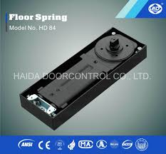 china automatic glass door floor spring hydraulic hinge closer china double cylinder floor spring single cylinder floor spring