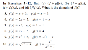 algebra of functions stark science assignment operations on functions