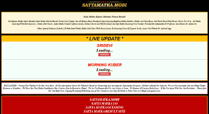 Access Sattamatka Mobi Satta Matka Fastest Matka Results