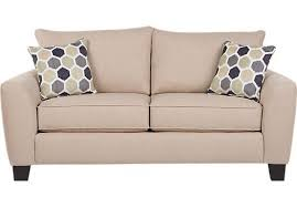 bonita springs beige sleeper loveseat
