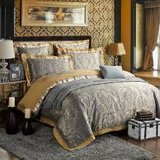 zangge bedding luxury satin jacquard paisley bedding sets include 1 duvet cover 1 flat sheet 2