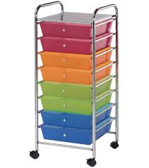 Storage Cart with 8 Drawers-Multi 16.25\u0022x14.5\u0022x39.75 Drawers- Multi 16.25\u0027\u0027x14.5\u0027\u0027x39.75\u0027\u0027 | JOANN