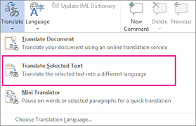 Translate Text Into A Different Language Office Support