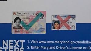 In Order To Fly Real Id 2020 For By Needed Marylanders Compliance