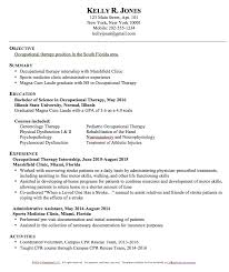 ... Stunning Inspiration Ideas Occupational Therapy Resume 15 Occupational  Therapy Resume Templates ...