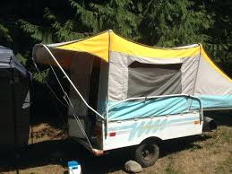 diy camping tent homemade tent trailer awning inexpensive pop up camper camping home made indestructible homemade camping tents
