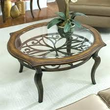 round metal end table coffee base lamps with birds round metal end table nice glass top silver finish within tables