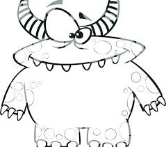 Coloring Pages Of Cute Monsters Cute Monster Coloring Pages Monster