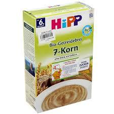 Bột ngũ cốc nguyên hạt HiPP 2890 - kidsplaza.vn